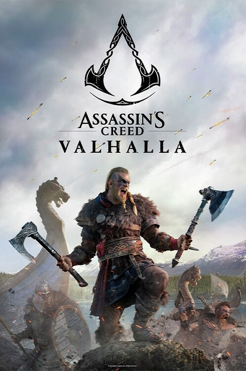 Poster Assassin's Creed: Valhalla - Raid