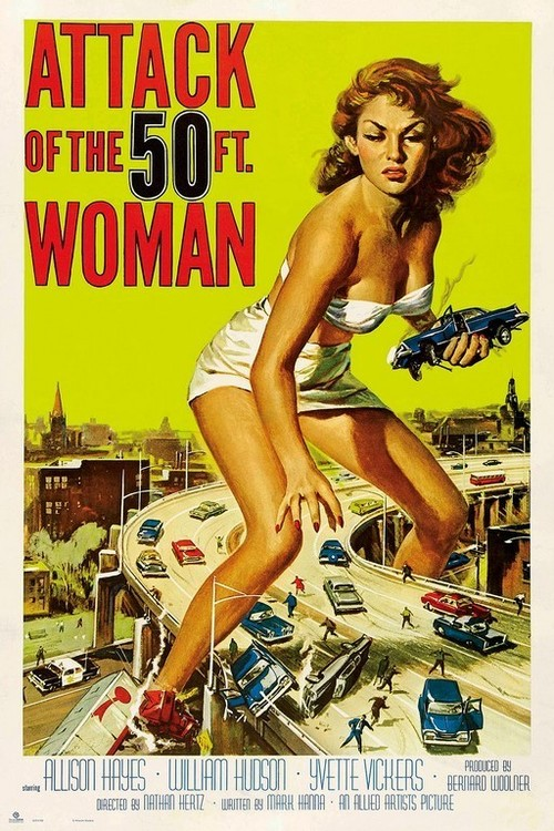 Póster  Attack Of The 50Th Woman