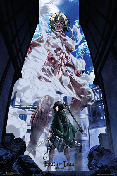 Poster Attack On Titan - Part 2 Art