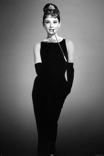 Bestel De Audrey Hepburn By Avela Poster Op Europostersnl