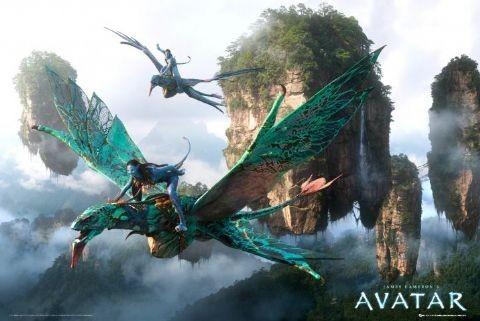 Póster  Avatar limited ed. - flying