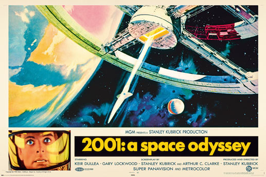 Poster AVELA - 2001 a space odyssey