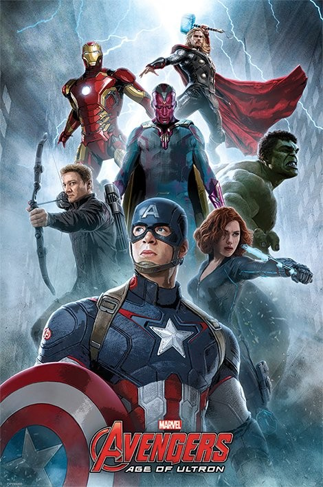 Avengers: Age Of Ultron - Encounter Poster