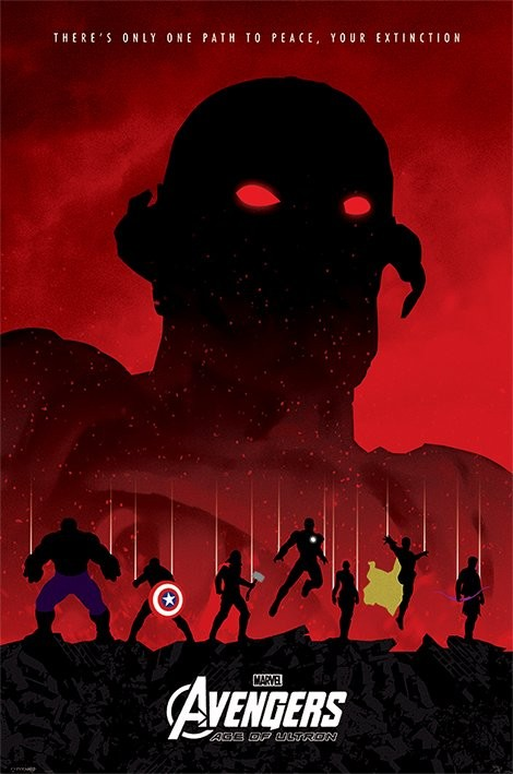 Poster Avengers: Age Of Ultron - Extinction