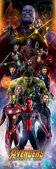 Póster Avengers Infinity War - Characters