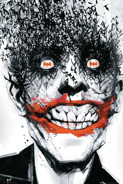 Póster  BATMAN Comic - Joker Bats