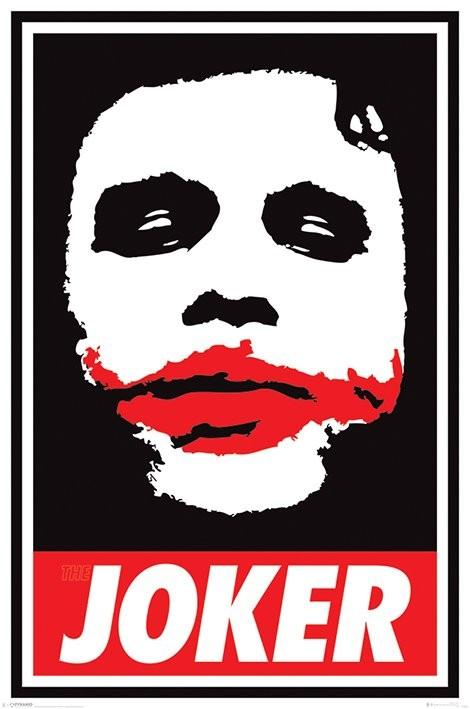 Póster  Batman: El caballero oscuro - Obey The Joker