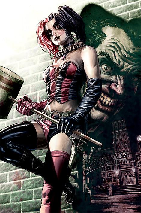 Póster Batman - Harley Quinn Pose