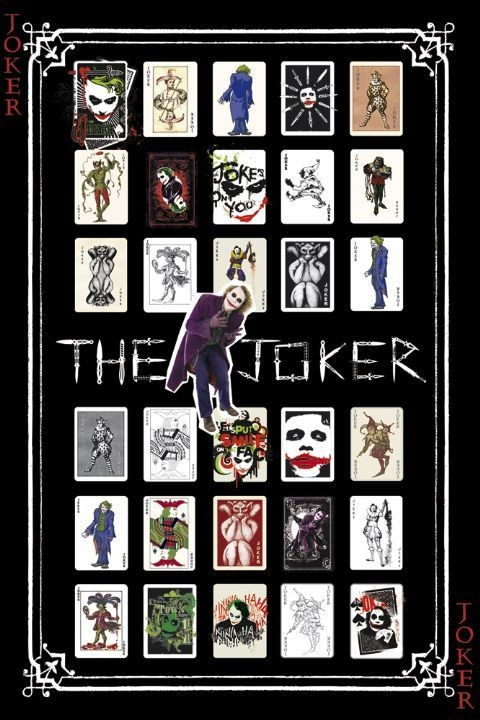 Poster  BATMAN - joker pack