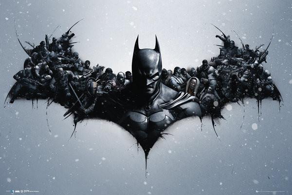 Póster  Batman Origins - Arkham Bats