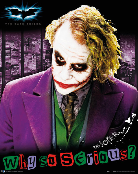Poster  Batman: The Dark Knight - Joker