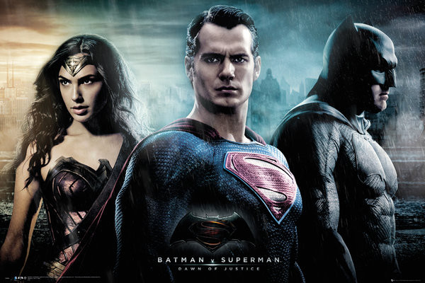 Póster Batman v Superman: Dawn of Justice - City