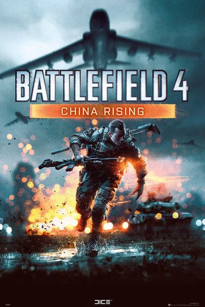 Poster Battlefield 4 - china rissing
