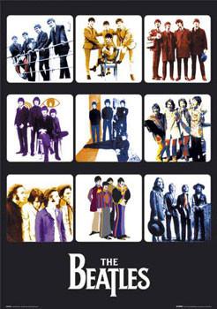 Poster Beatles - through years II.