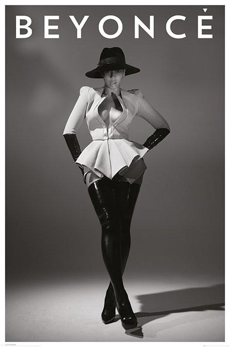 Póster Beyonce - hat