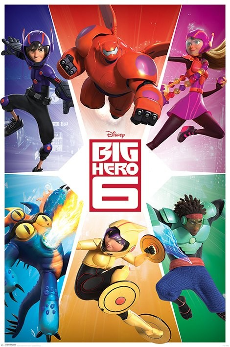 Big Hero 6 - Team Poster