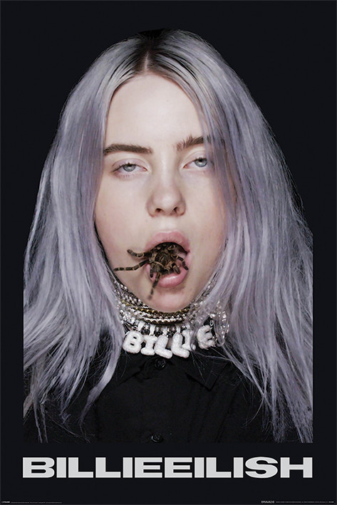 Póster  Billie Eilish - Spider