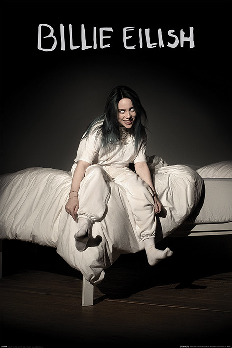 Póster Billie Eilish - When We All Fall Asleep Where Do We Go