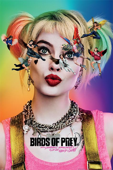 Poster Birds of Prey: e la fantasmagorica rinascita di Harley Quinn - Seeing Stars