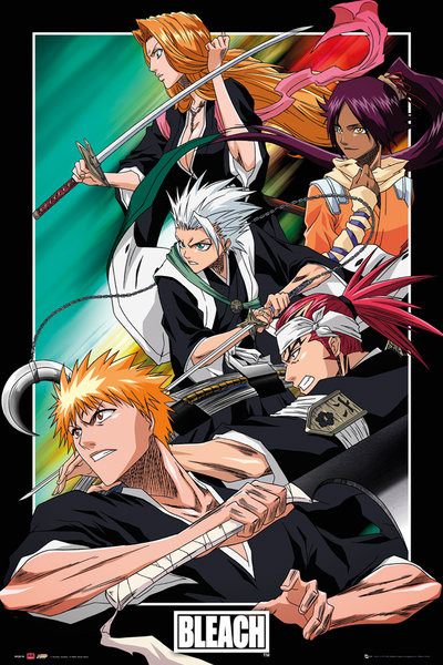 Póster Bleach - Group