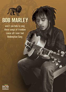 Poster  Bob Marley - guitar