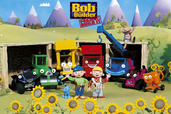 Poster BOB THE BUILDER - sunflowers