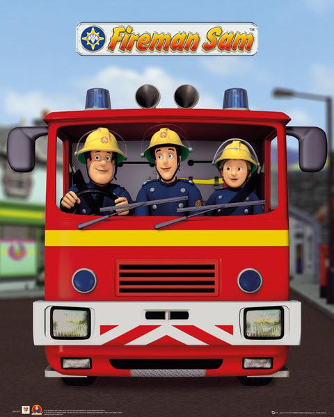 bestel de brandweerman sam jupiter poster op europosters nl
