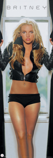 Poster Britney Spears - leather