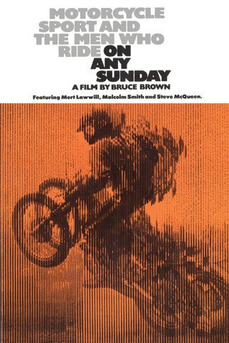 BRUCE BROWN - on any sunday poster, Immagini, Foto