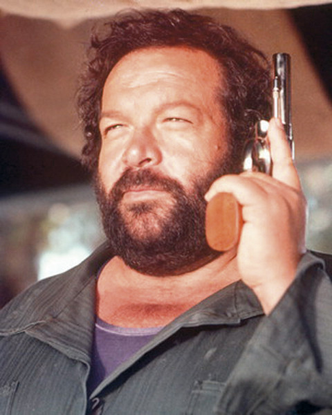 Bud Spencer poster, Immagini, Foto