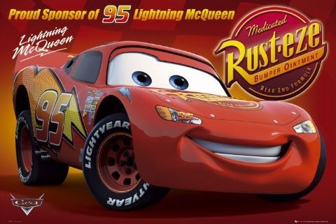 Poster CARS - rusteze