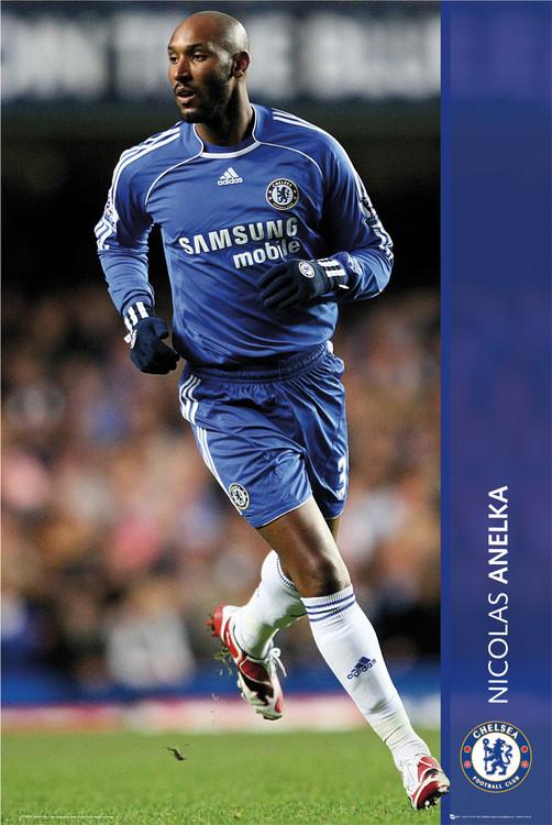 Poster Chelsea - anelka 07/08