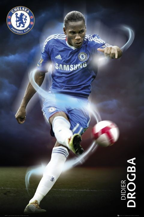 Poster Chelsea - drogba 2010/2011