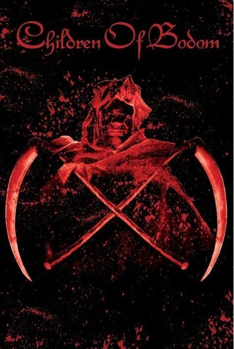 Children of Bodom - crossed scythes Poster