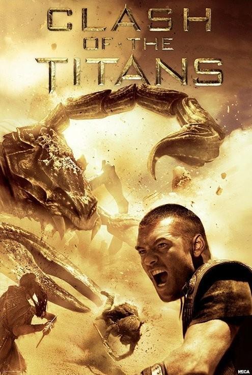 Poster CLASH OF THE TITANS - scorpion