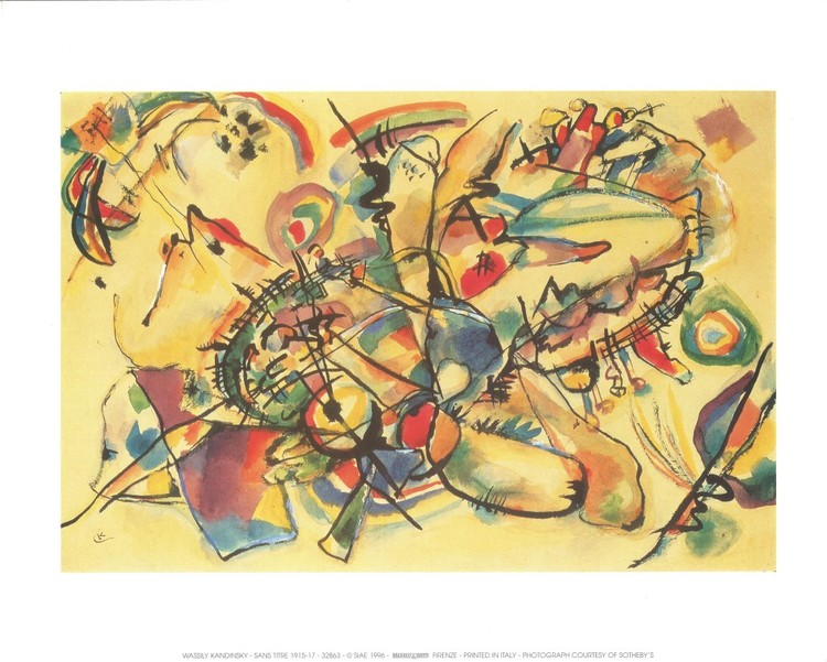 Composition 1917 Kunstdruk
