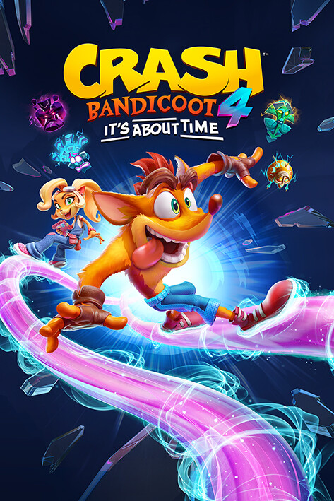 Poster Crash Bandicoot 4 - Ride