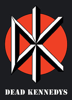 Poster Dead Kennedys - logo