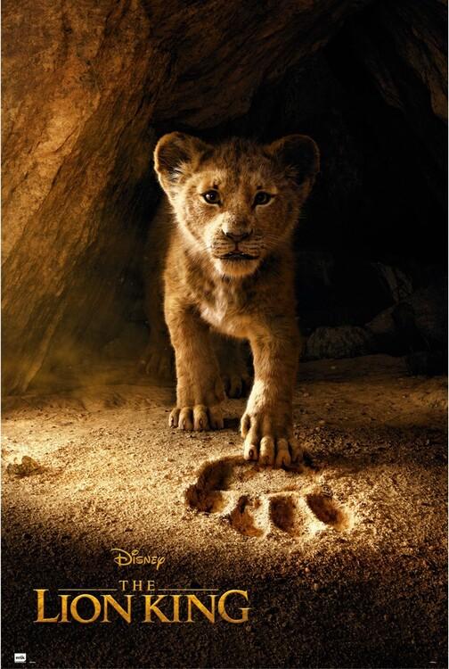 Poster Der König der Löwen - Simba
