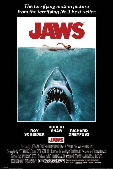 Poster Der weiße Hai - One Sheet