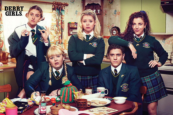 Poster Derry Girls - Kitchen