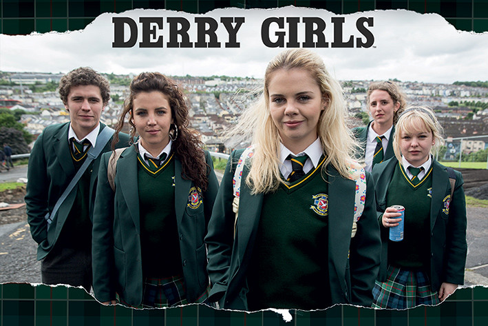 Derry Girls - Rip Poster