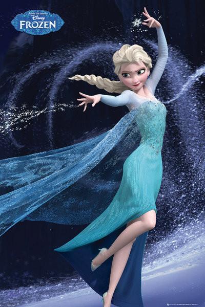 Die Eiskönigin: Völlig unverfroren Elsa Let It Go Poster, Plakat | 3+1 GRATIS bei Europosters