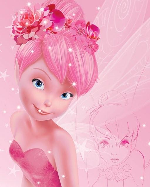 Póster Disney Fairies (Hadas) - Tink Pink