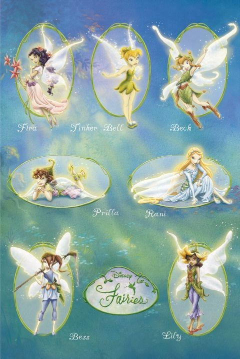 Poster DISNEY FAIRIES - squad