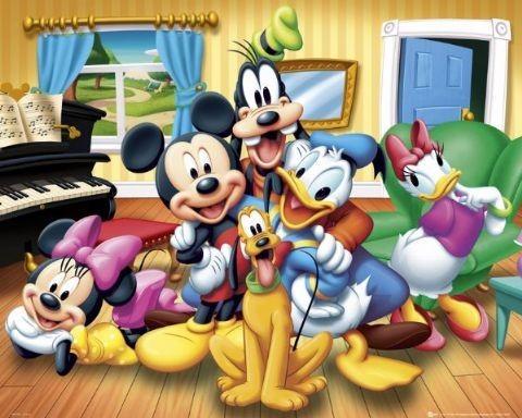 Poster DISNEY - group