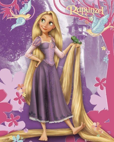 Tarjetas de invitación de rapunzel Disney - Imagui