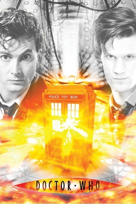 Poster DOCTOR WHO - regeneration