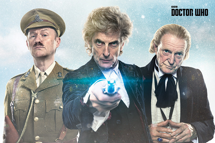 Póster  Doctor Who - Twice Upon A Time