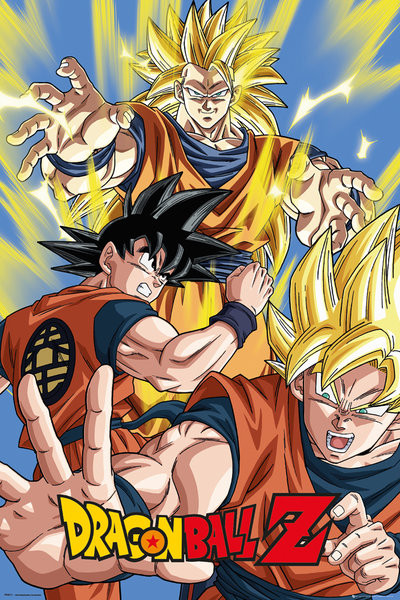 Poster Dragon Ball Z - Goku